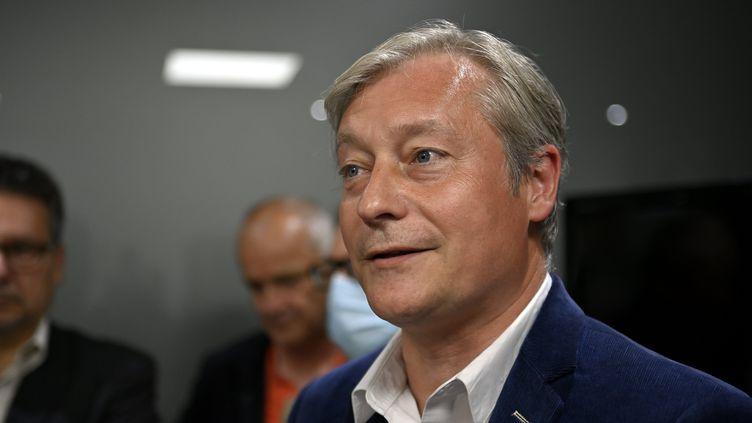 Laurent Hénart, ancien maire de Nancy et président du Mouvementradical. (ALEXANDRE MARCHI / MAXPPP)