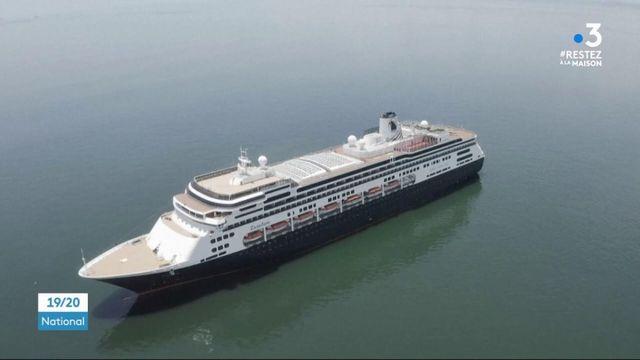 Coronavirus : des touristes bloqués au large du Panama dans un paquebot