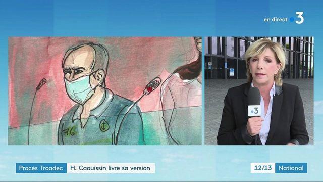Procès de l'affaire Troadec : Hubert Caouissin a livré sa version des faits sur la nuit des meurtres