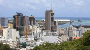 La capitale de l'île Maurice, Port-Louis vue depuis la citadelle du fort Adelaïde. (JACQUES SIERPINSKI / JACQUES SIERPINSKI)