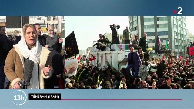 Mort de Qassem Soleimani : une foule immense pour accompagner le cercueil à Téhéran