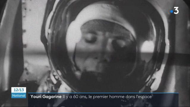 Espace : le cosmonaute russe Youri Gagarine, le premier homme à effectuer un vol dans l'espace
