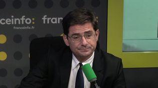 Nicolas Dufourcq, directeur général de la banque publique d'investissement. (RADIO FRANCE / CAPTURE D'ÉCRAN)