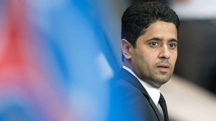 Le président du PSG Nasser Al-Khelaïfi