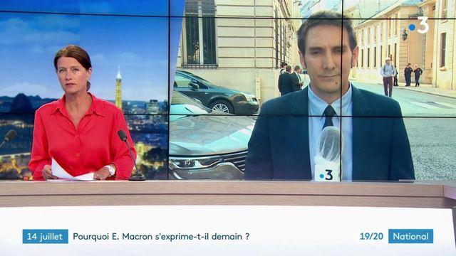 14-juillet : pourquoi Emmanuel Macron s'exprime t-il demain ?