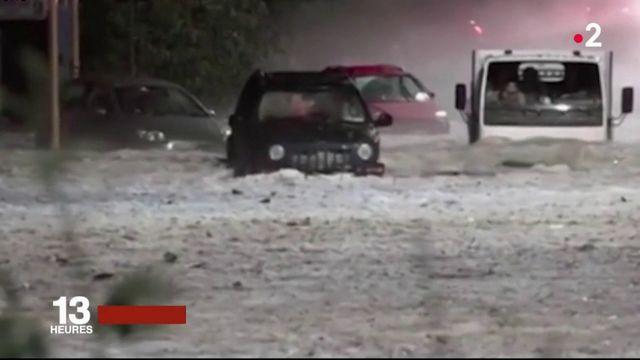 Italie : tempête de grêle à Rome