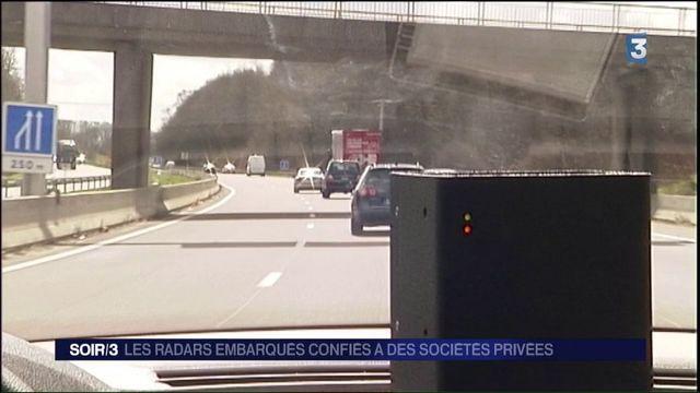 Route : les radars embarqués confiés à des entreprises privées