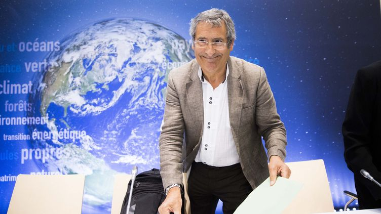Gilles Bœuf,professeur de biologie et de biodiversité à la Sorbonne, à Paris, le 31 août 2015. (CHRISTOPHE MORIN / MAXPPP)