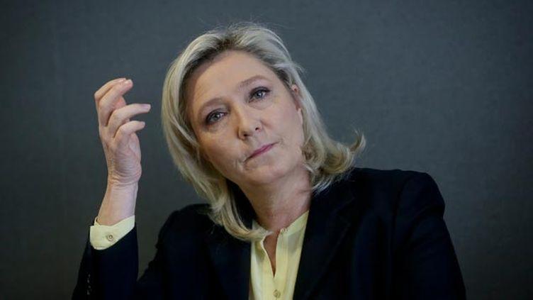 (Marine Le Pen se prépare activement pour 2017 © maxPPP)