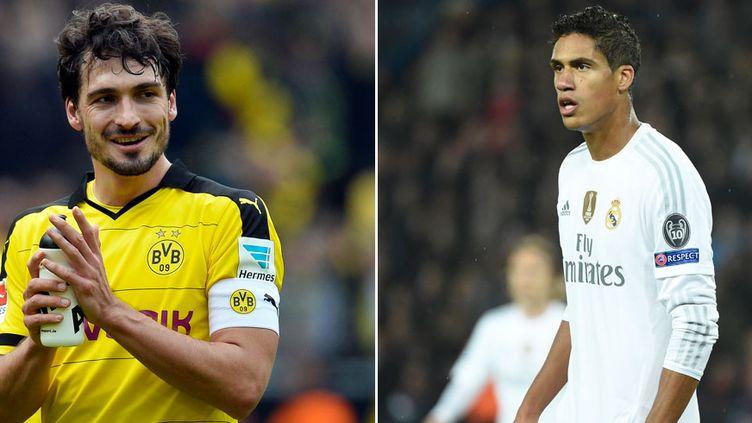 Les défenseurs centraux Mats Hummels et Raphaël Varane