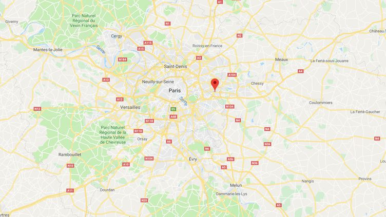 Noisy-le-Grand, en Seine-Saint-Denis. (GOOGLE MAPS)