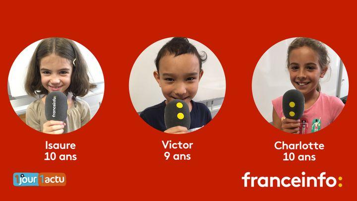 franceinfo junior, une émission en partenariat avec le magazine d'actualités pour enfants, 1jour1actu et 1jour1actu.com. (FRANCEINFO / RADIO FRANCE)