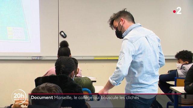 Marseille : le collège Auguste Renoir, un symbole de réussite