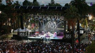 La scène du Nice Jazz Festival en 2015  (PHOTOPQR/NICE MATIN / Franck Fernandes  / maxppp)