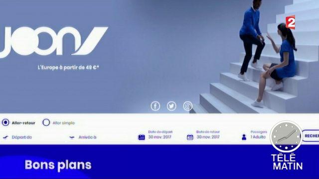 Air France : premier vol pour Joon