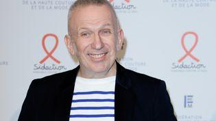 Jean-Paul Gaultier à un dîner de levée de fonds pour Sidaction le 23 janvier 2020 à Paris. (THOMAS SAMSON / AFP)