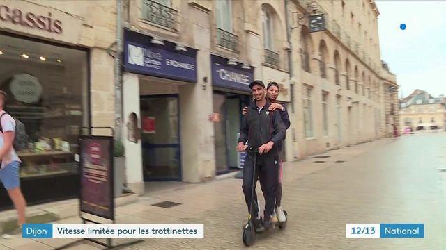 Dijon : les trottinettes électriques limitées à 8km/h
