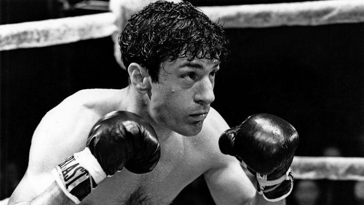 Robert De Niro dans la peau du boxeur Jake LaMotta dans Raging Bull de Martin Scorsese (1980)  (United Artists)