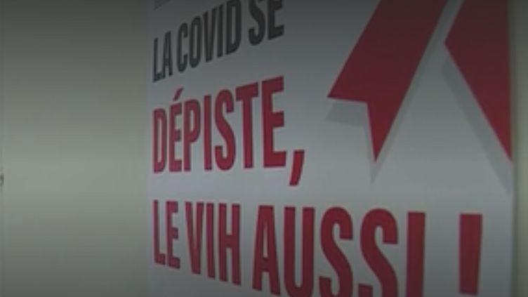 Santé : le nombre de tests de dépistage du VIH en chute libre (FRANCE 3)