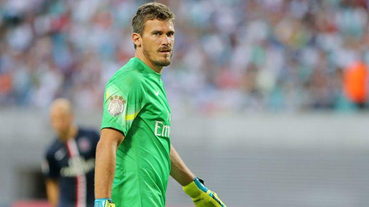 Le gardien du PSG, Nicolas Douchez