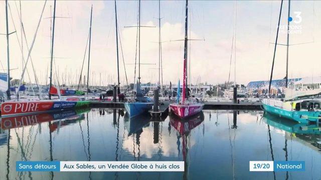 Vendée Globe : le grand départ se fera à huis clos