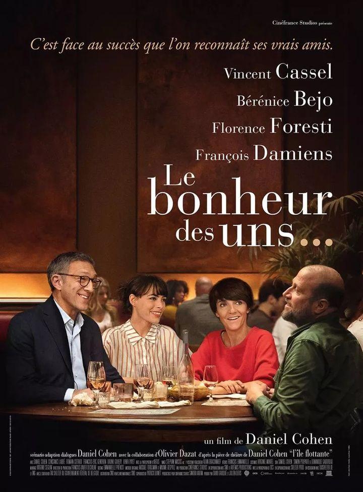 """L'affiche de """"Le Bonheur des uns..."""" de Daniel Cohen. (SND)"""