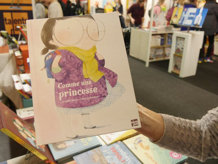 """Comme une princesse"", de Brigitte Mine (Editions Talents Hauts)  (Laurence Houot / Culturebox)"