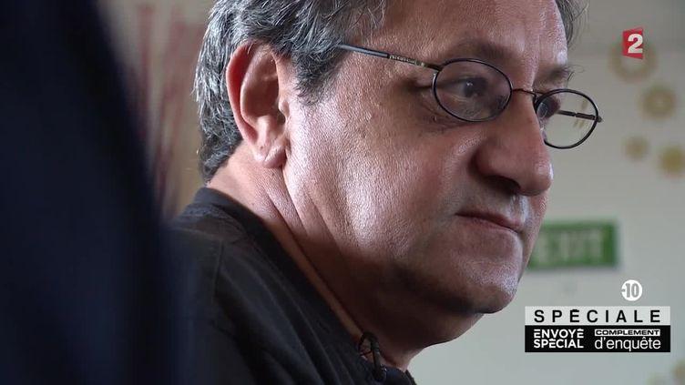 """Daniel Psenny, journaliste au """"Monde"""", a été blessé à proximité du Bataclan, le13 novembre 2015. (FRANCE 2)"""