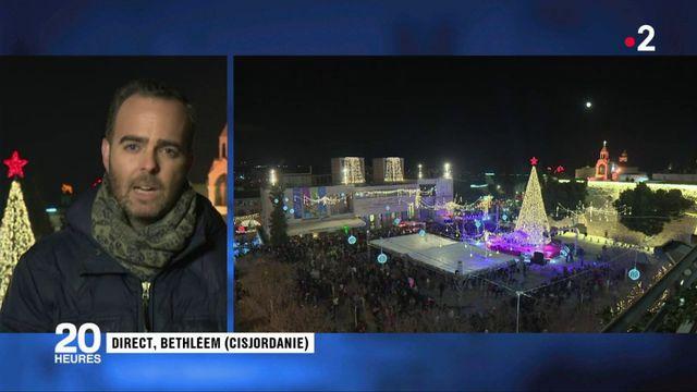 Noël : les chrétiens attendent la messe de minuit à Bethléem