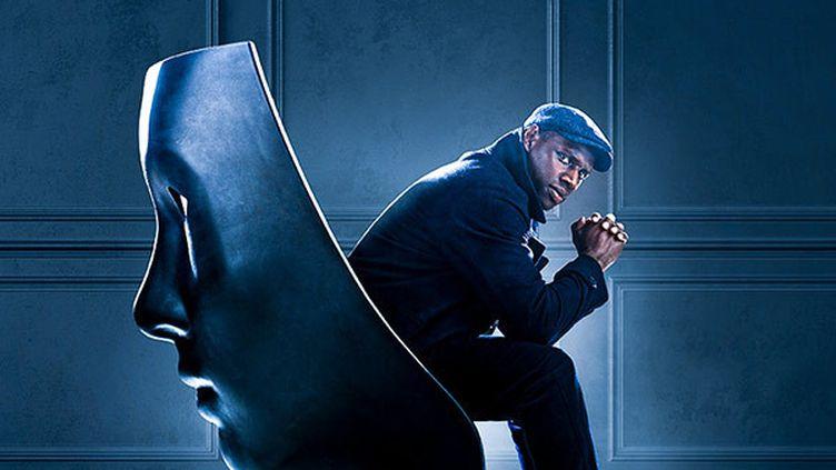"""Détail de l'affiche de """"Lupin, partie 2"""", deuxième saison de la série à succès avec Omar Sy sur Netflix. (NETFLIX)"""