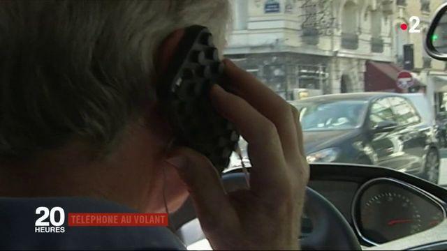 Sécurité routière : tolérance zéro contre les téléphones au volant