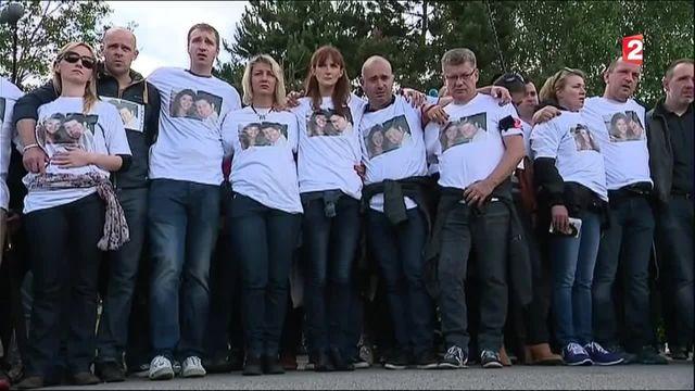 VIDEO. A Magnanville, un cortège ému de 2 500 personnes rend hommage aux policiers tués