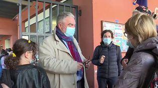 Variant du Covid-19 à Bordeaux : retour en classe des élèves du quartier Bacalan (FRANCE 3)