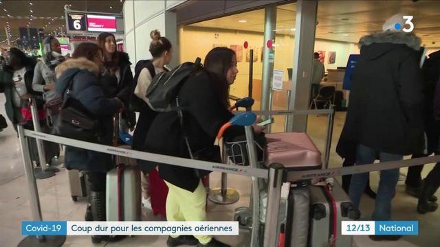 Coronavirus : coup dur pour les compagnies aériennes