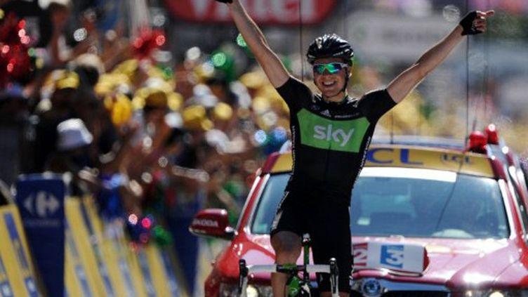 Edvald Boasson Hagen, vainqueur de la 17e étape (PASCAL PAVANI / AFP)