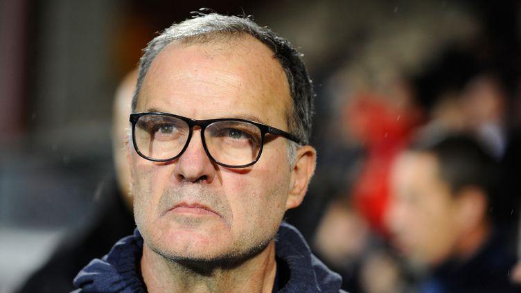 Le repli défensif n'a plus aucun secret pour Marcelo Bielsa et Leeds United (JEAN-CHRISTOPHE VERHAEGEN / AFP)