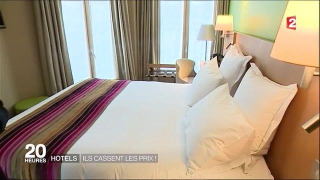 En France, les hôtels cassent leurs prix