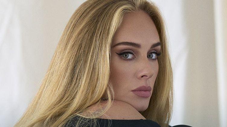 La chanteuse britannique Adele en 2021. (SONY MUSIC ENTERTAINMENT)