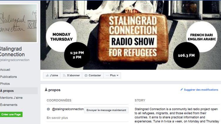 Capture d'écran de la page Facebook de l'émission de radio Stalingrad Connection. (CAPTURE D'ÉCRAN FACEBOOK)