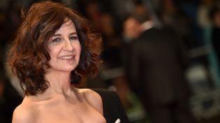 Valérie Lemercier au festival de Cannes en mai 2015  (BERTRAND LANGLOIS / AFP)