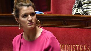 Marlène Schiappa, à l'Assemblée nationale, le 20 mars 2019. (BERTRAND GUAY / AFP)