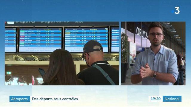 Aéroports : les files d'attente s'allongent