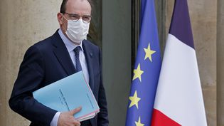 Le Premier ministre, Jean Castex, le 17 mars 2021 à Paris. (LUDOVIC MARIN / AFP)