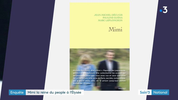 """La couverture du livre """"Mimi"""" (France 3)"""