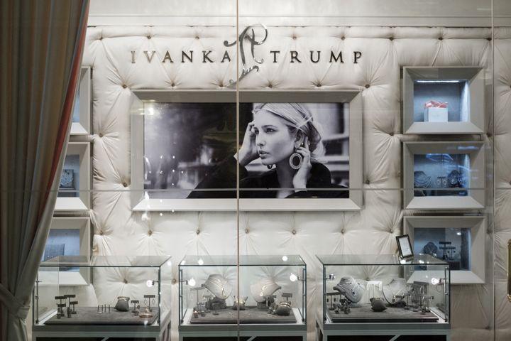 Collection de bijoux Ivanka Trump, 2017  (Drew Angerer / GETTY IMAGES NORTH AMERICA / AFP)