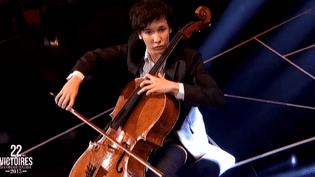 Edgar Moreau aux Victoires de la musique classique, 2 février 2015  (culturebox)