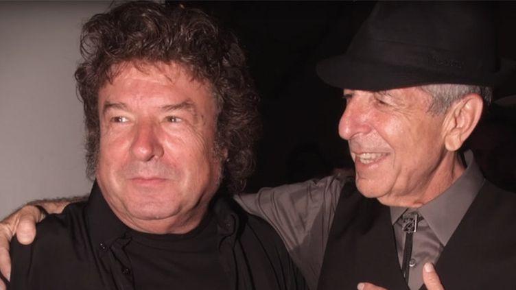 """Enrique Morente et Leonard Cohen, image tirée du film """"Omega"""""""