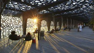 Le Musée des civilisations de l'Europe et de la Méditerranée (MuCEM) est l'une des principales constructions ouvertes pour Marseille capitale européenne de la culture en 2013. (MOIRENC CAMILLE / AFP)
