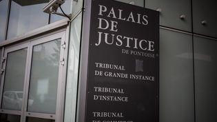 Le palais de justice de Pontoise (Val-d'Oise), en novembre 2013. (MAXPPP)