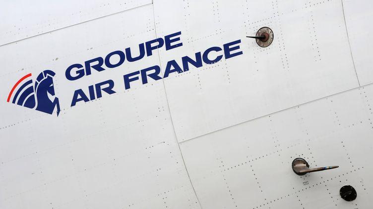 Sur un avion d'Air France, en novembre 2008. (LIONEL BONAVENTURE / AFP)